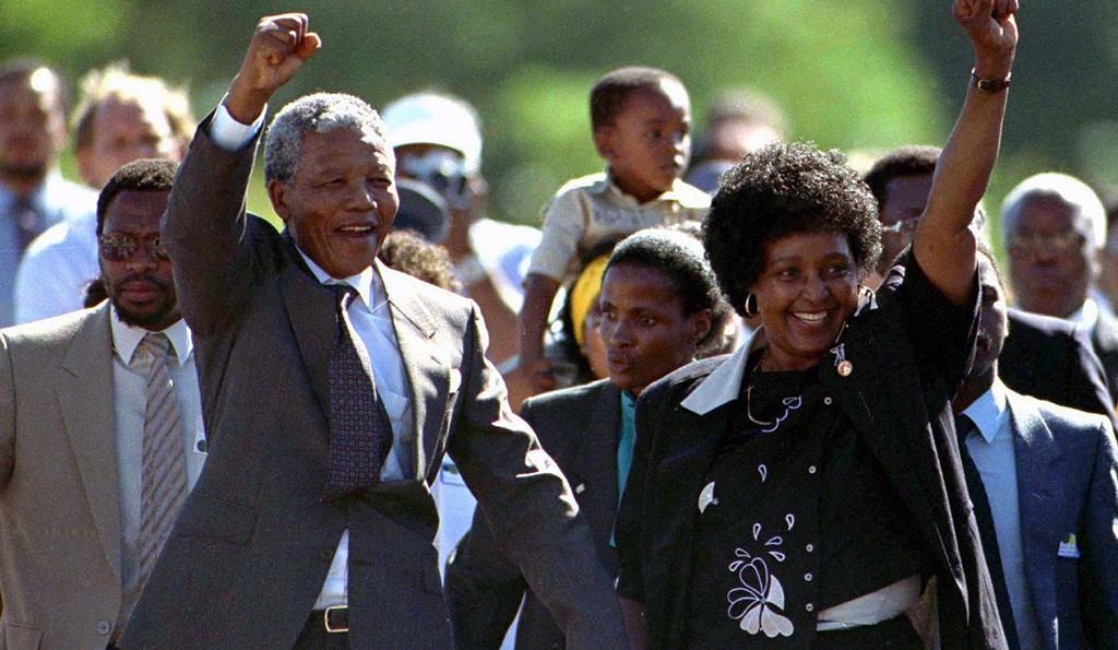 Nelson & Winnie Mandela