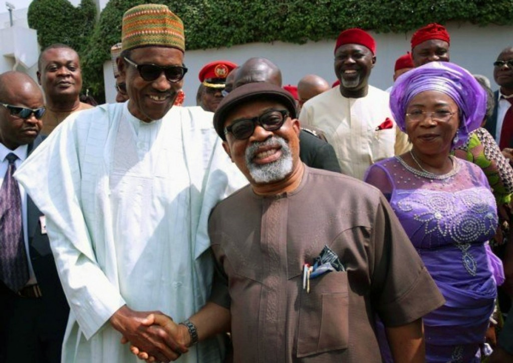 Ngige selling Buhari