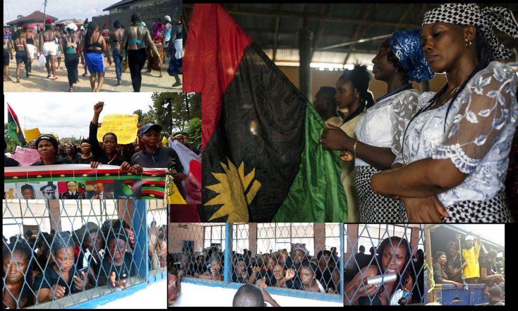 Imprisoned IPOB women