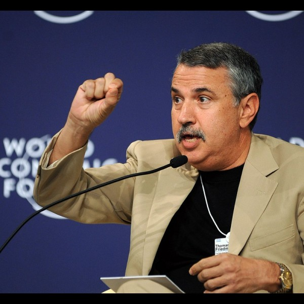 Thomas Friedman the writer