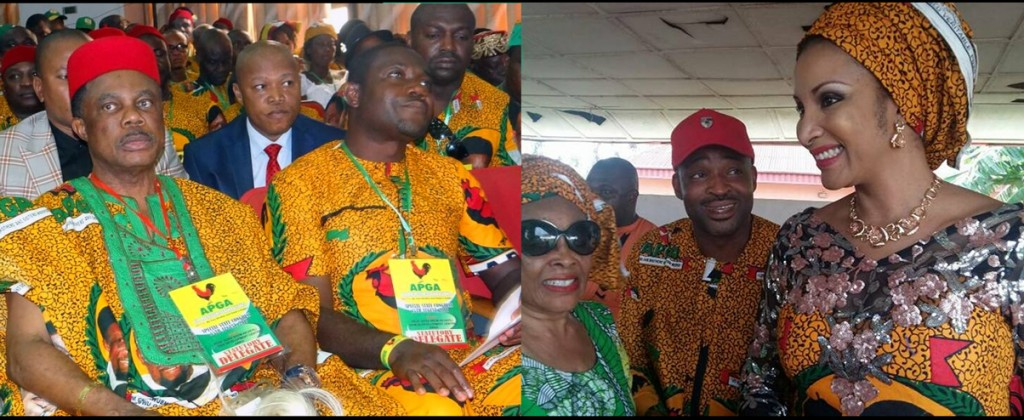 Ojukwu's party is now Obiano's