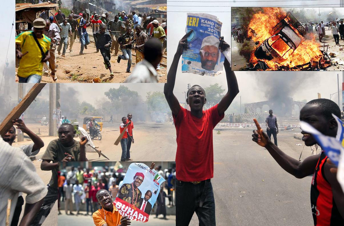 Hoodlums plunder on incitement