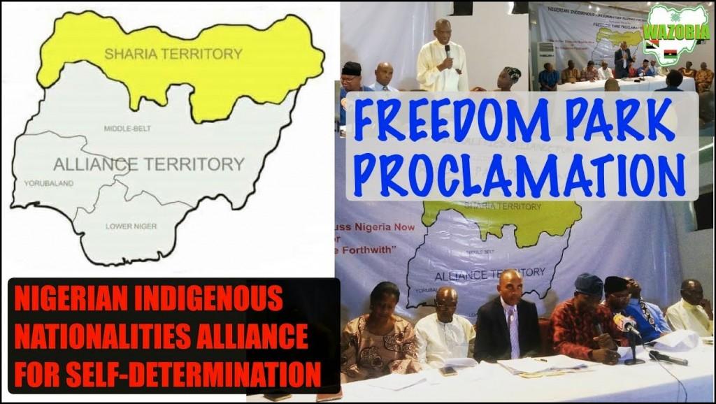 freedom Park Proclamation by NINAS