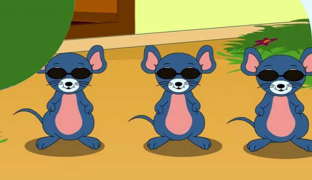 Three blind mice in disarray