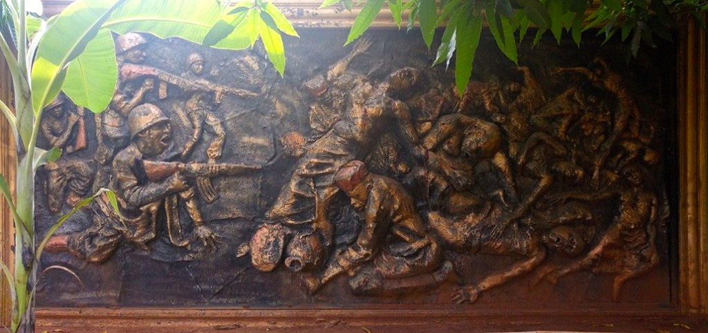 Asaba Massacre in wood