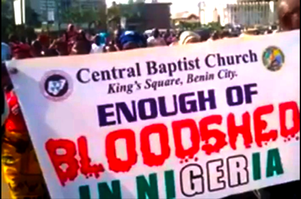 Christians must stop genocide
