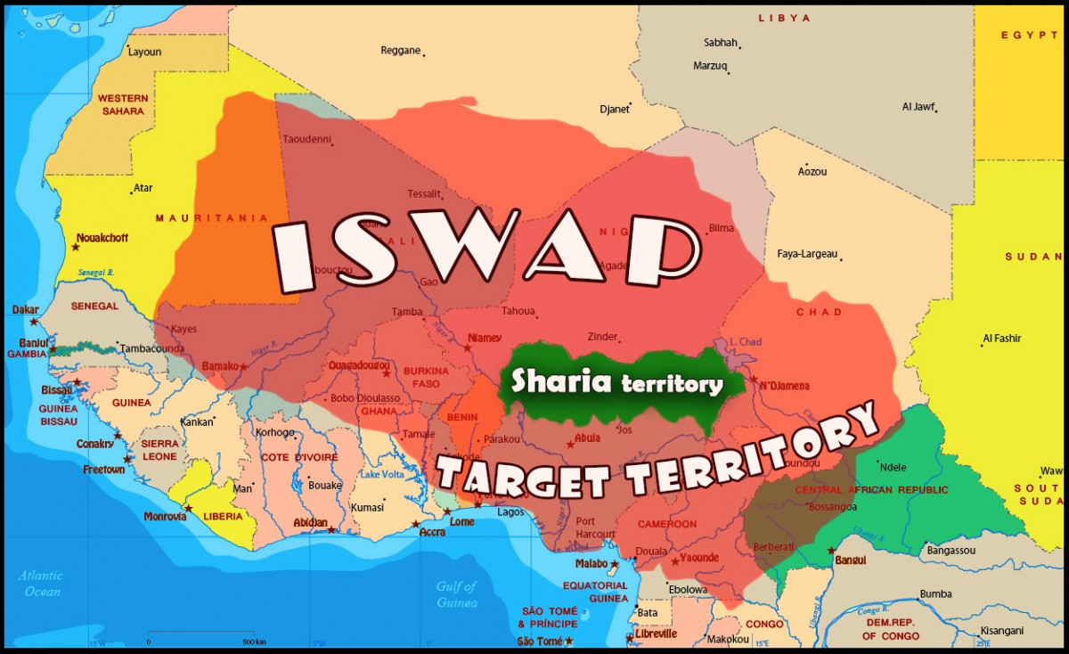 ISWAP projected Caliphate