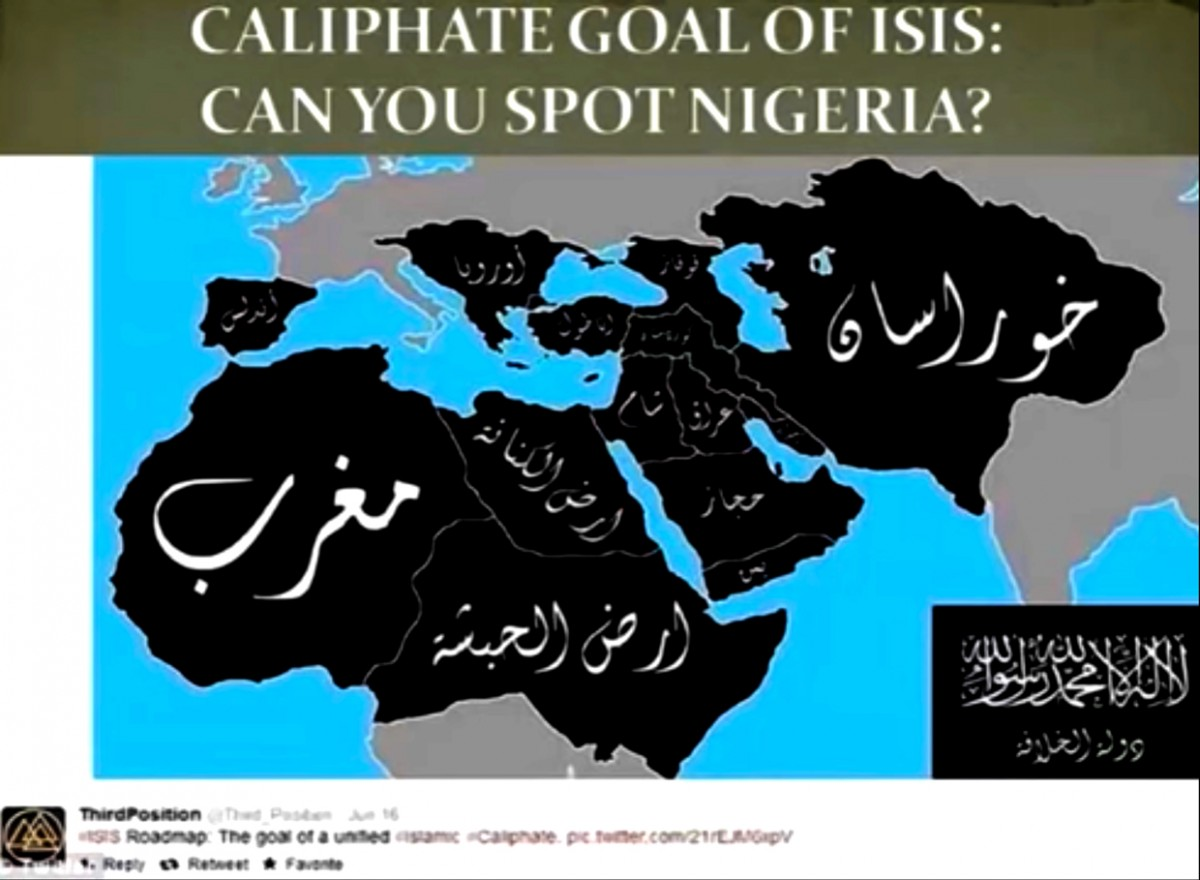 Caliphate empire by ISIS