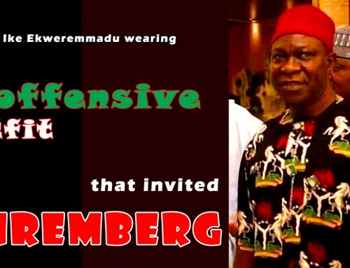 Senator Ekweremmadu Proudly Adorns Himself with Insignia of Unitary Nigeria That Kills His Folks