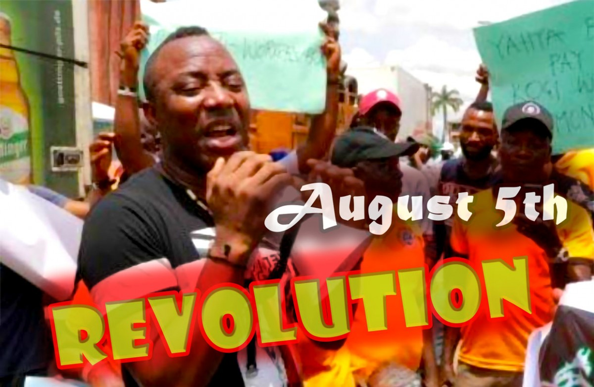 Sowore leads Revolution