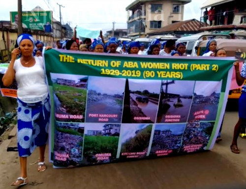 Aba Women, Mobilize Your Menfolk to Clean Up Enyimba City, Starting with Business Storefronts & Homesteads – Maazi Ezeoke