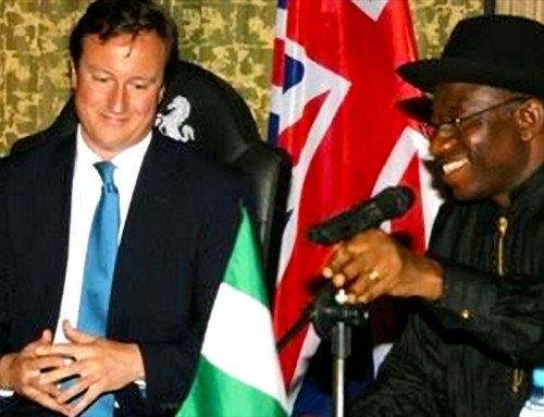 You Are A Liar! – Nigeria's Goodluck Jonathan Tells Ex-British Prime Minister, David Cameron