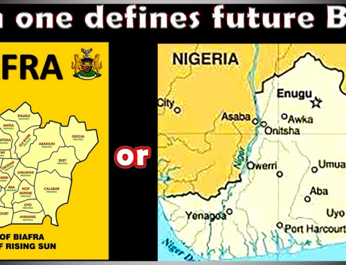 The Eleven Provinces of Biafra Ceased to Exist in 1970 & Thus, Can No Longer Be Reflected in Rising Sun rays of the Biafra Flag – Owhoko