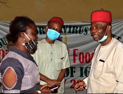 ICVRFG Implores All Igboukwu Residents to Cooperate With Anambra State Govt's Directives to Prevent Spread of Covid-19 Pandemic – Prof. Nwosu