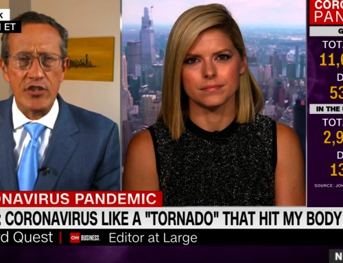 Covid-19 Infection Is Like a Tornado Storm With a Very Long Tail – laments CNN's Richard Quest