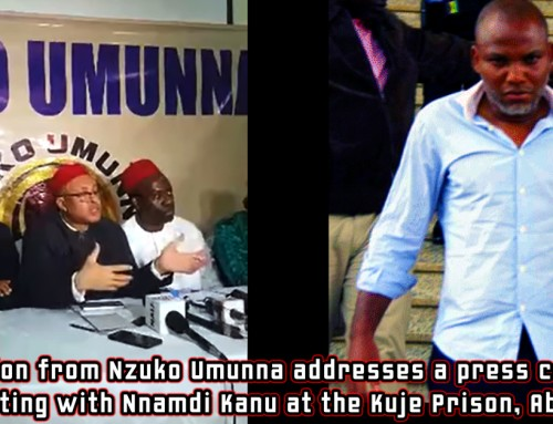 "Refusal by Nzuko Umunna to Publish Kuje Accord Report in 2017 Led to Events That Necessitated Current ""Reconciliation"", Operation ""Python Dance II"" & Attack on Igbo Elders – Nnadi"