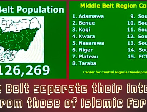 "Middle Belters Reject to Be Called ""Northerners"" – They Prefer Instead to Identify as Central/Middle Nigeria"