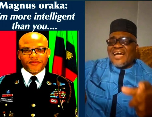 "It is the Autocracy, Rudderlessness, Greed, Lies & Propaganda of IPOB ""Supreme"" Leader That We Are Sabotaging – says Oraka"