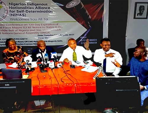 Political Parties Must Close Shop Now to Allow Nigerian Stakeholders to Focus on Transition, Referendums – NINAS